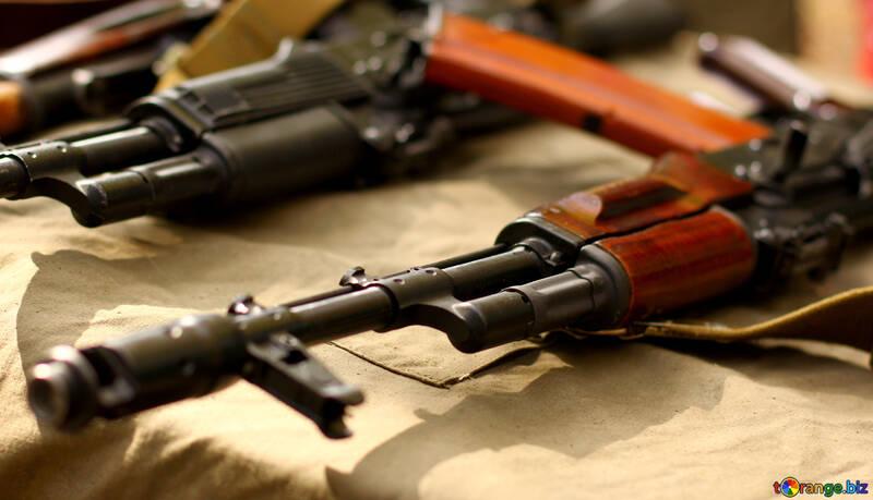 Waffen ak47 №51202