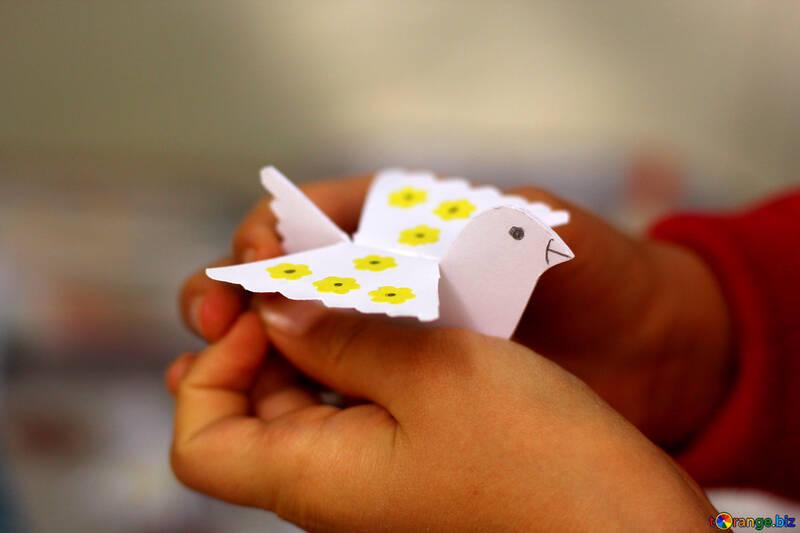 Paper  bird №51105
