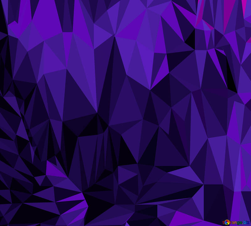 Polygonal background with triangles Blue №51581