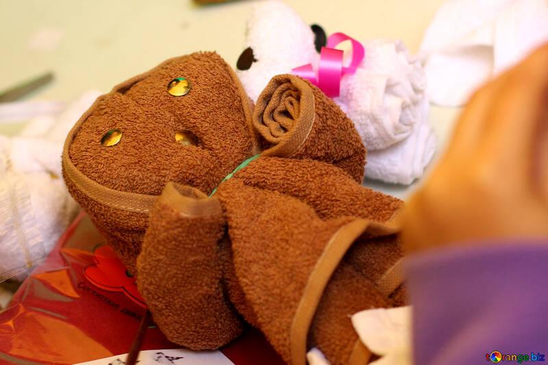 Towel doll №51005