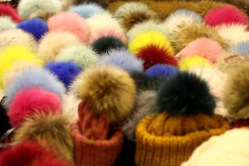 wool balls fluffy №52969