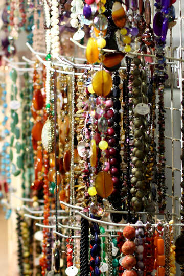 a lots beads necklace №52817