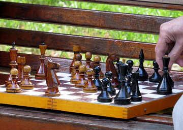 Schachbrett spielen №52288
