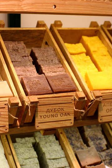 wood lots of soap boxes merch YOUNG OAK №52880