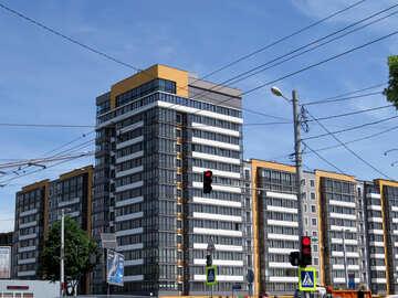 Gray building №52047