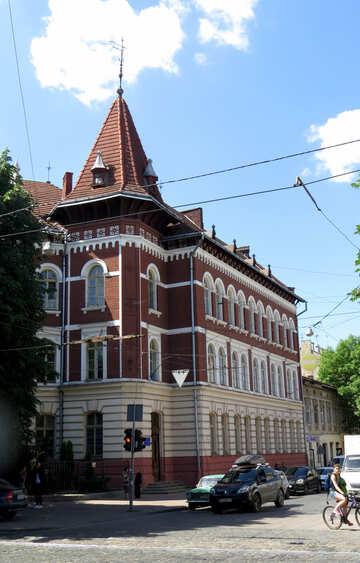 Brick building look like church №52216