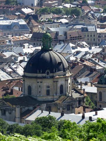 La chiesa e la città degli edifici №52112