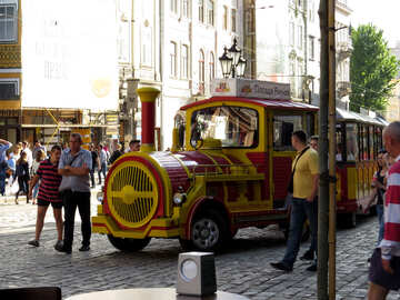 Vagone in una città №52334
