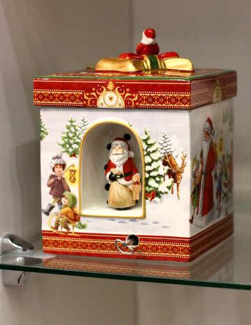 Коробка рождественского украшения №52800