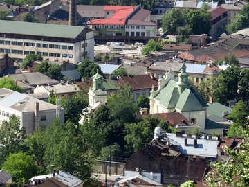 Grandi edifici del villaggio di città №52107