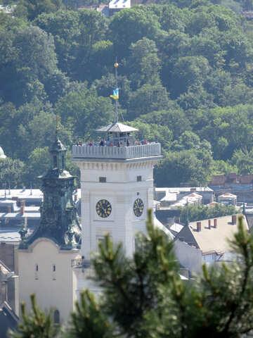 Costruire con una torre dell`orologio №52111