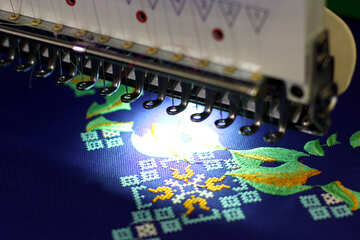 Embrodery semicondoctor computer background №52570