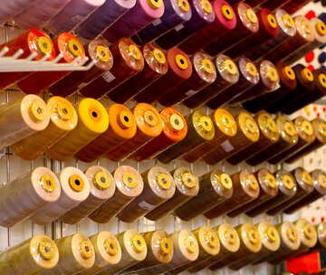 cotton thread colors string spools №52535