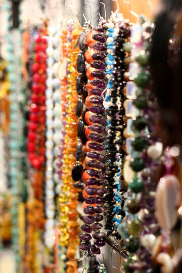 colours beads №52829