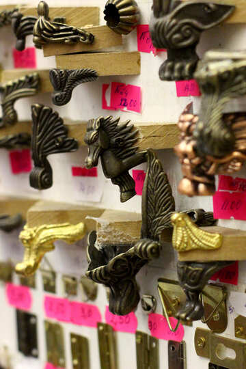 Wall horse pictures nice minitaure Scultura trofei alati №52860