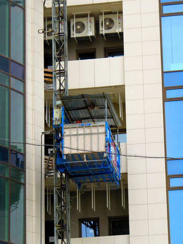 someone is restyling a building, i can use this pic for  commerce building crane conditioners elevator №52456