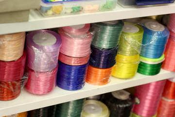 Crafting materials rolls thread strings №52702