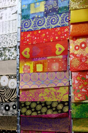 Modelli di piastrelle colorate Design materiale tessuto №52775