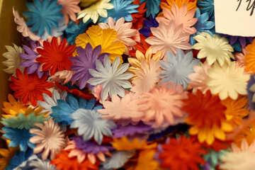 Flowers Duplicate silk №52938