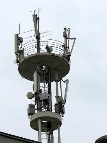 Palo di antenna industriale dell`antenna cellulare №52443