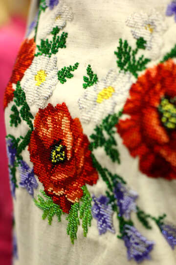 shirt flowers floral №52807