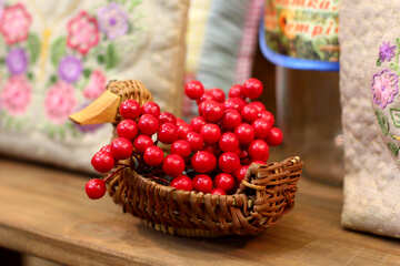 berries in a basket №52684