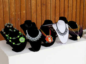 Necklace girl necklaces №52385