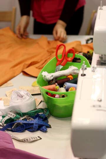 Craft tools scissors, ribbons №52991