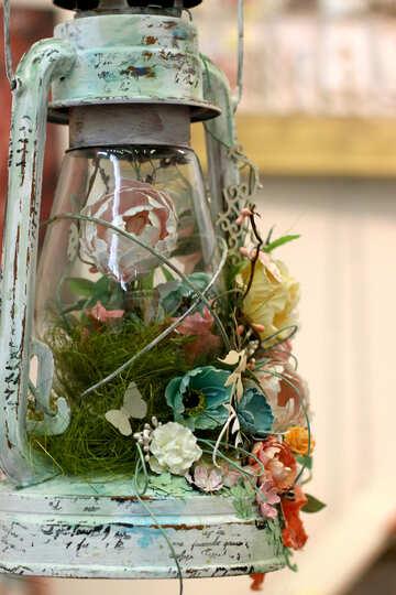Flowers lantern Lamp №52994