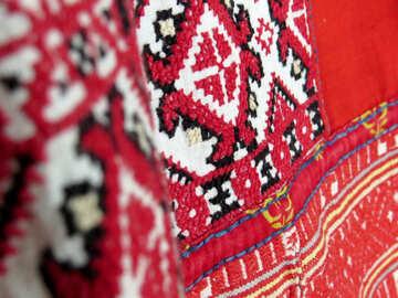 The pattern on oriental carpet №52373