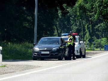 Police  speeding  stop №52036