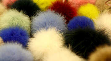 fluffy balls pom poms what is your favorite color №52971
