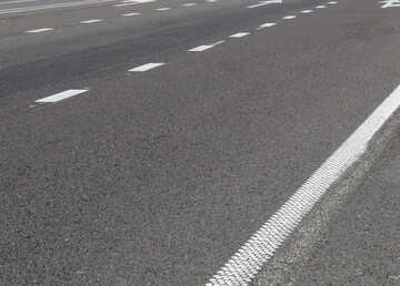 Road asphalt lines white №52022