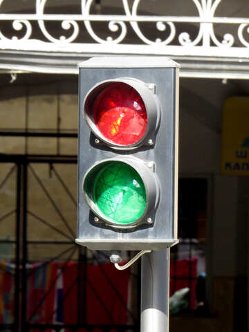 Signal a stoplight №52322