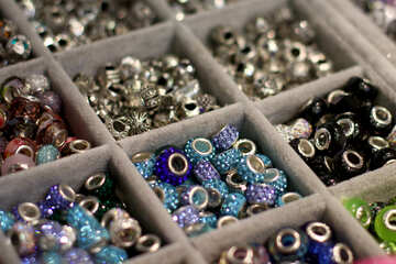 Bead sorted things boxes jewellery beads №52964