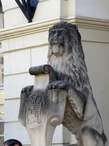 Statue lion №52339
