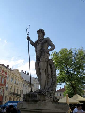 Statue of Neptune №52343