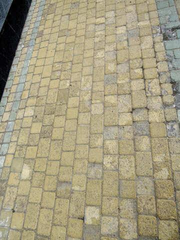 Street, or sidewalk pave №52396