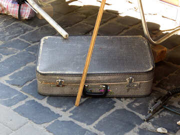 Vintage  suitcase koffer №52155