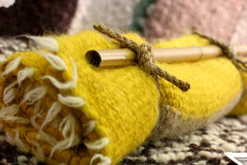 woollen blanket tied wool cloth №52887