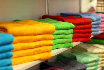 colour towels wear clothes №52624