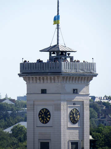 Fort tower clock №52140