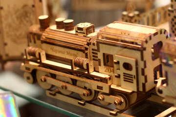 Motore di treno di legno №52719