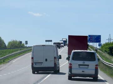 Highway vans and road №52045