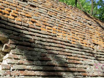 Roof wall bricks №52069