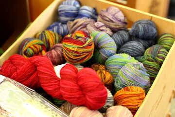 wool yarn №52636