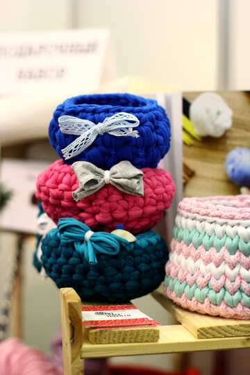 woollen baskets №52750
