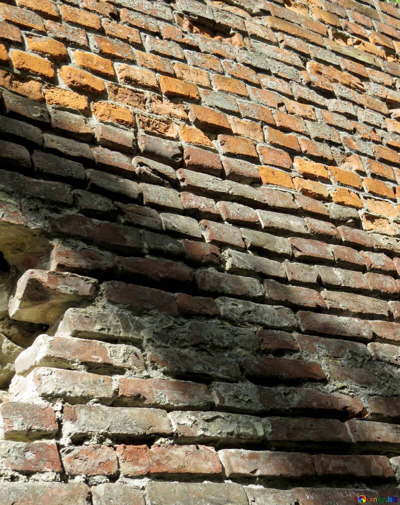 Old  bricks wall №52070