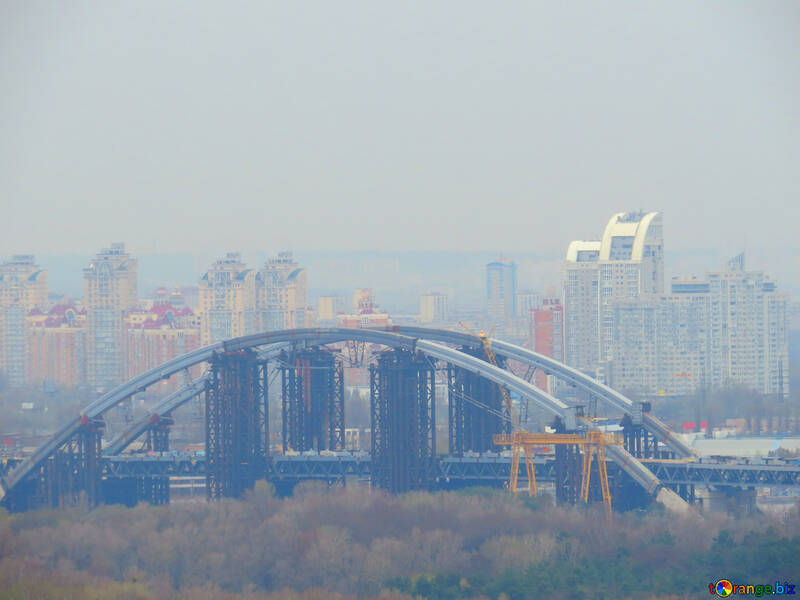 Buildings in background and  bridge №52464
