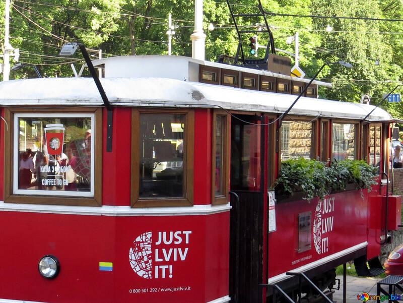 Train bus retro №52159